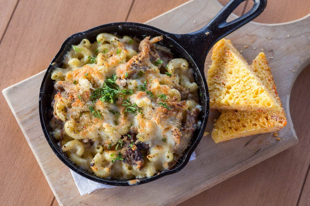 The best mac & cheese in this state is usually made with Vermont cheddar