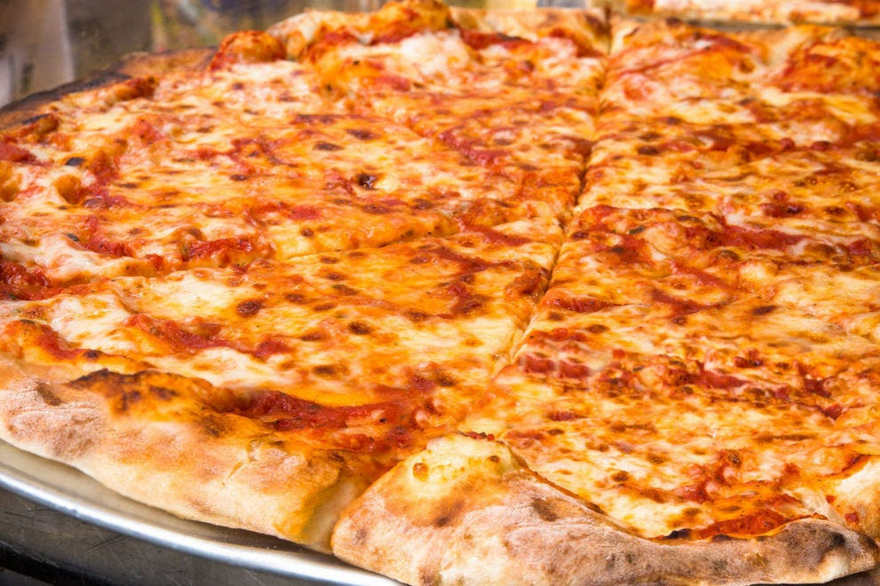 The battle for New York pizza supremacy is a fierce one