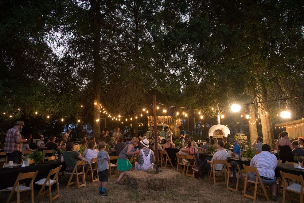 Anyone attending Pickathon can buy a ticket to a Curation event – an intimate, once-in-a-lifetime experience of food, music and perfectly-paired drink