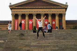 Rocky Steps at Philadelphia Museum of Art