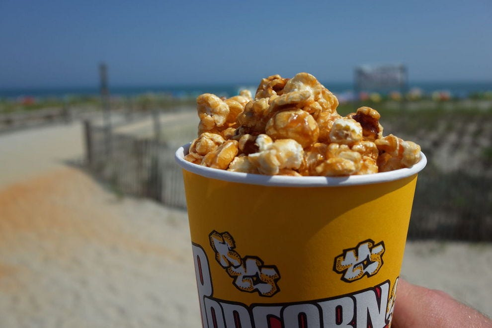 Johnson's caramel popcorn is calling your name