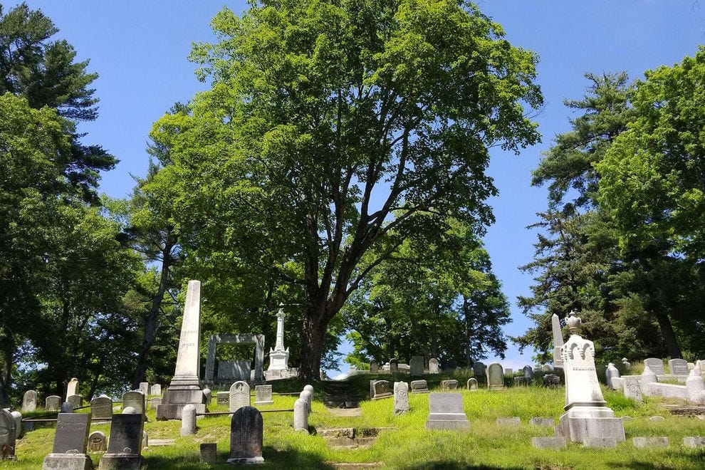 You'll remember Mount Hope Cemetery from <em>Pet Sematary</em>