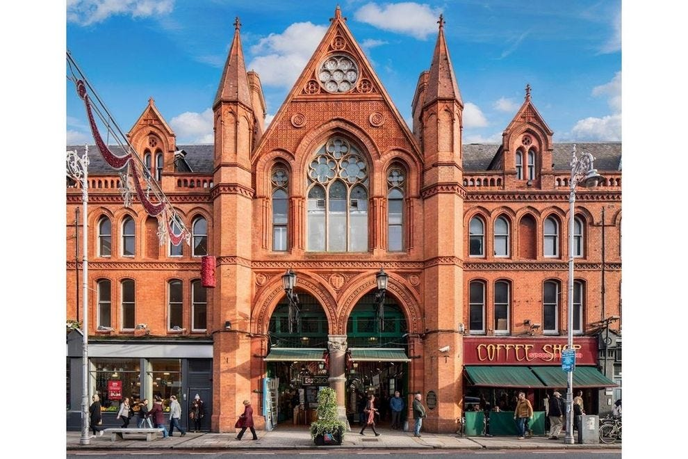 George's Street Arcade is Ireland's first purpose-built shopping center – and one of Europe's oldest