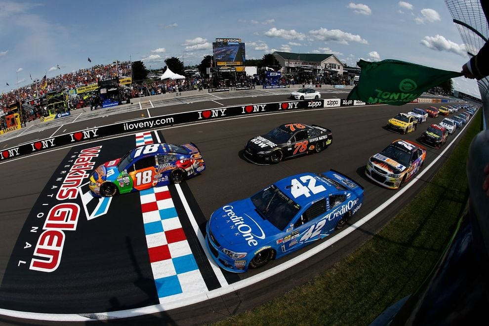 Watkins Glen hosts a NASCAR double header weekend