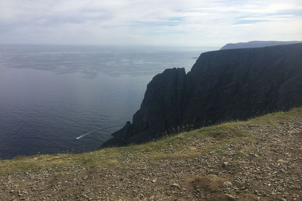 North Cape is as far north as you can go in Europe