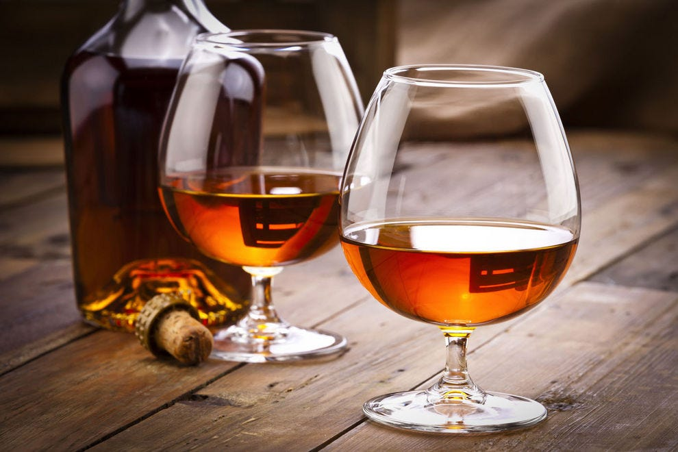 Brandy, a spirit distilled from wine or fruit, is enjoying a comeback