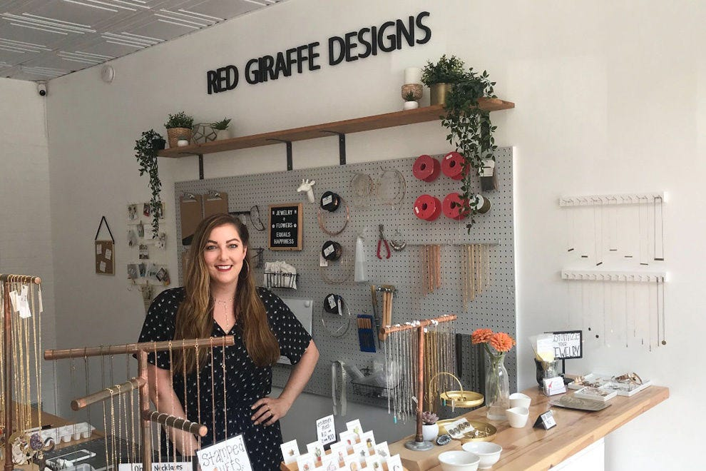 Kate Stevens, founder of Red Giraffe Designs