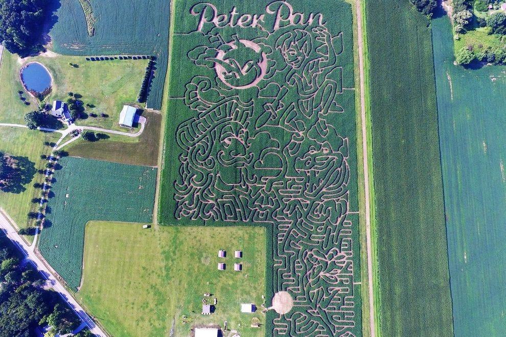 Best Corn Maze Winners 2018 10best Readers Choice Travel