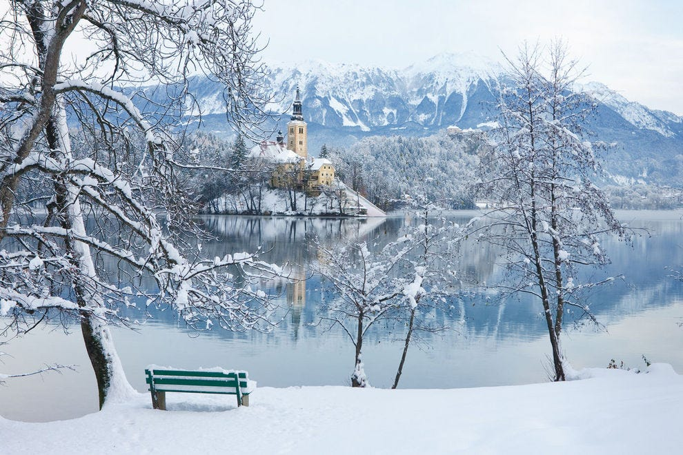 Bled in the snow