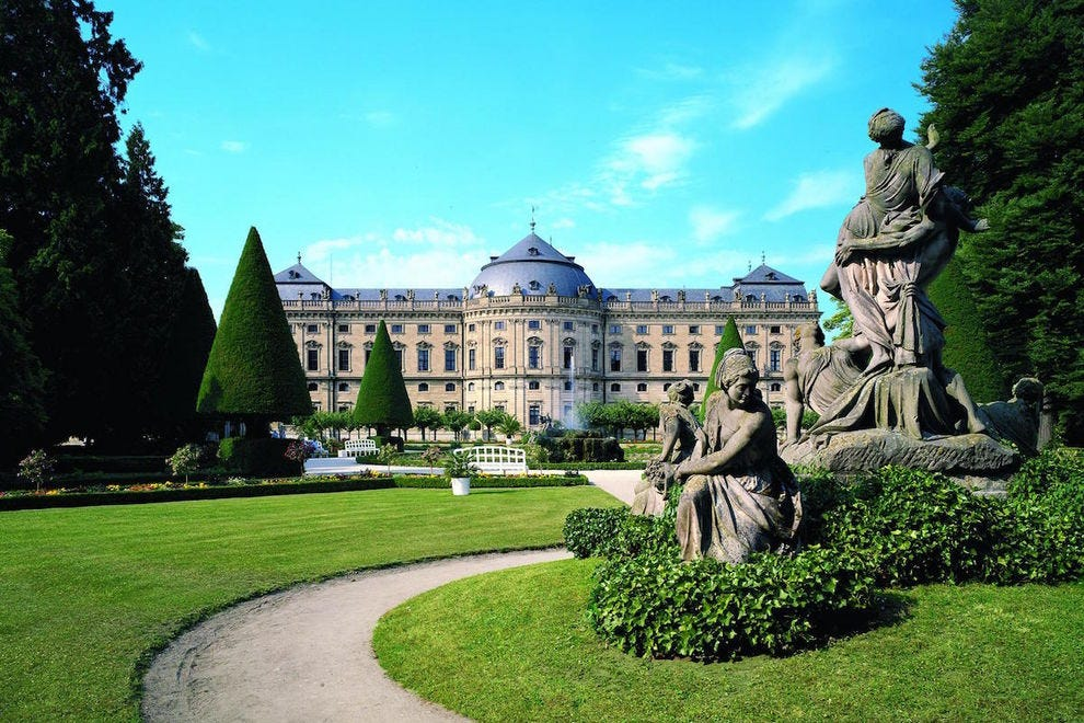 The Residence in Wurzburg is one of Europe's most impressive Baroque palaces