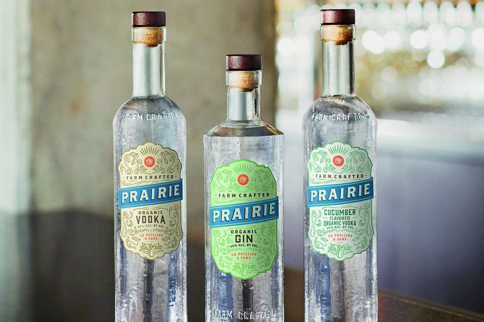 Prairie Organic Spirits makes their award-winning vodka from Minnesota-grown corn