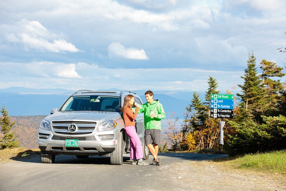 Take the scenic Toll Road to the top of Mount Mansfield