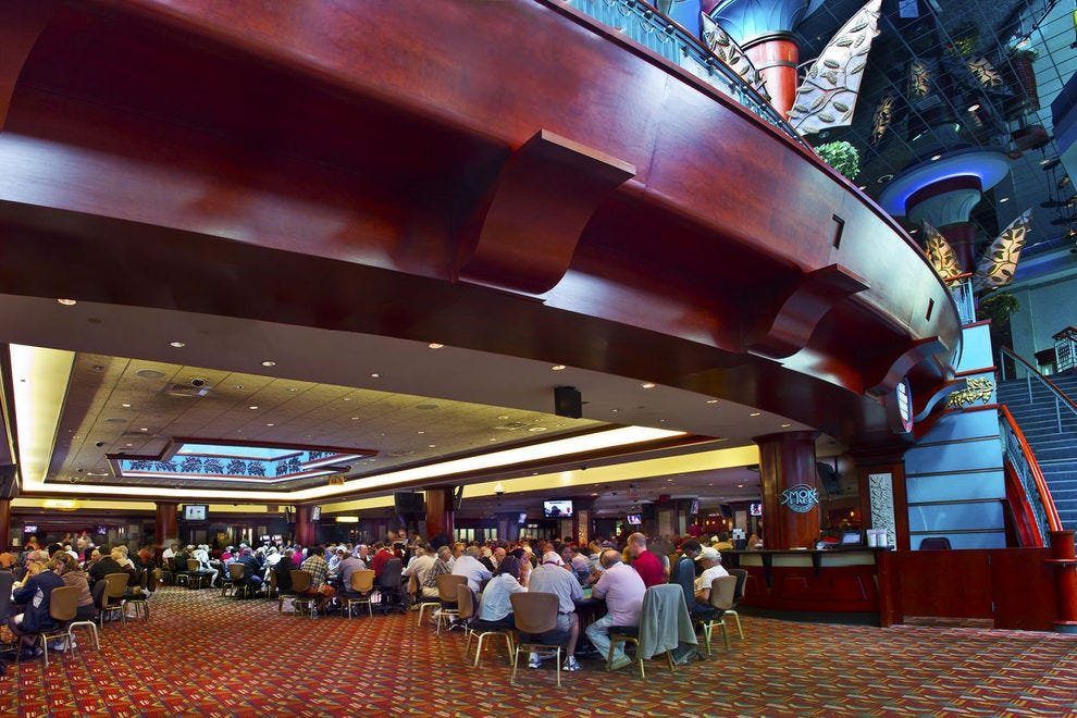 Foxwoods is home to one of the world's largest Bingo halls