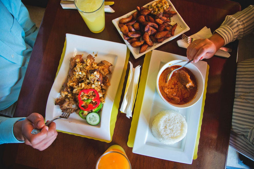 Kilimandjaro is a West African eatery serving delicious meals with a Senegalese influence