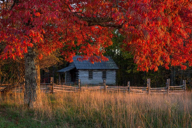 Beautiful places to see fall foliage in the South