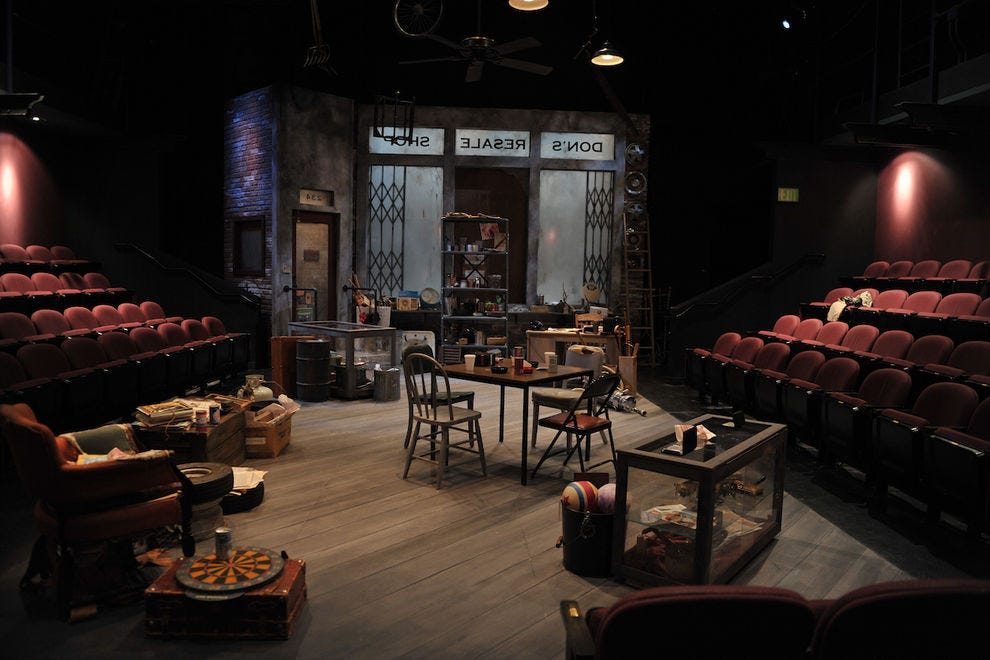 Aurora Theatre Company presents world-class productions in an intimate setting