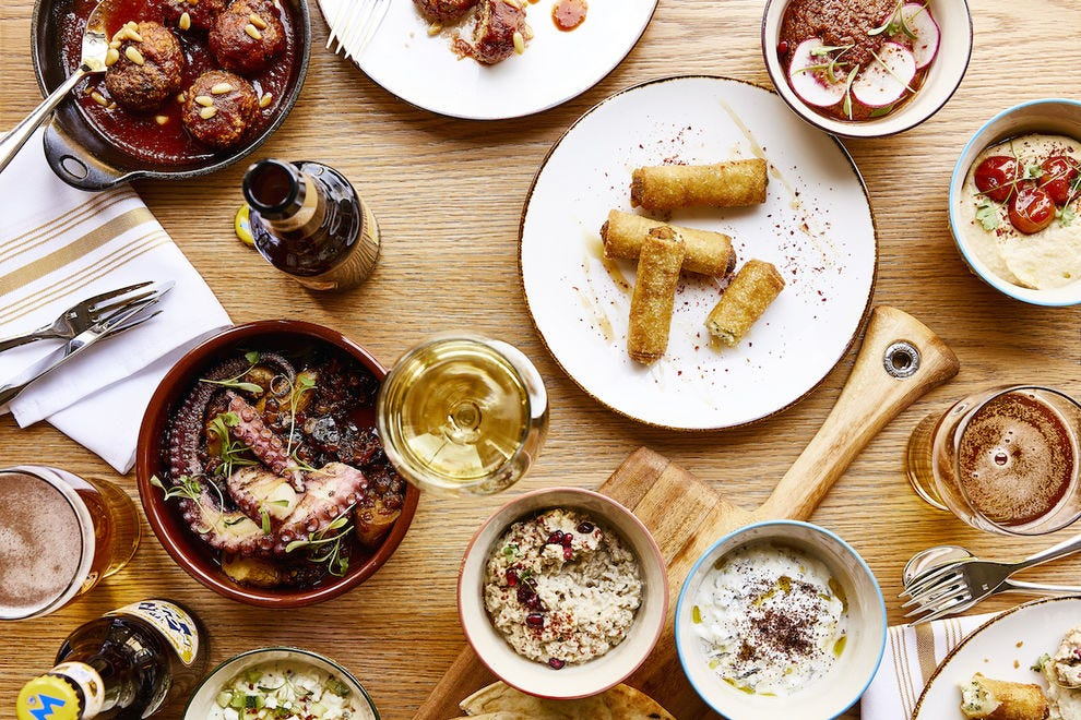 ZINO's menu is inspired by the cuisine of 22 Mediterranean countries