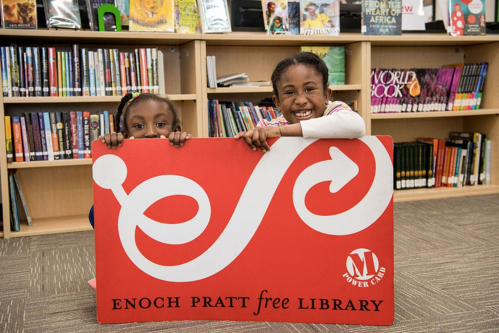 This Baltimore library is blazing new trails in niceness
