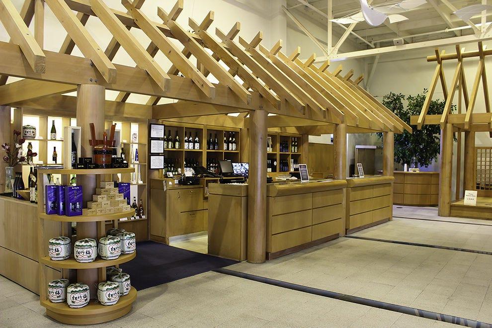 Enjoy a glass or a flight of sake at The Tasting Room at Takara Sake
