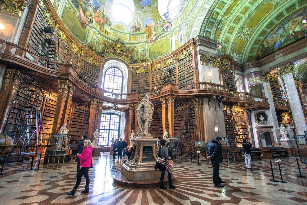 Austrian National Library in Vienna