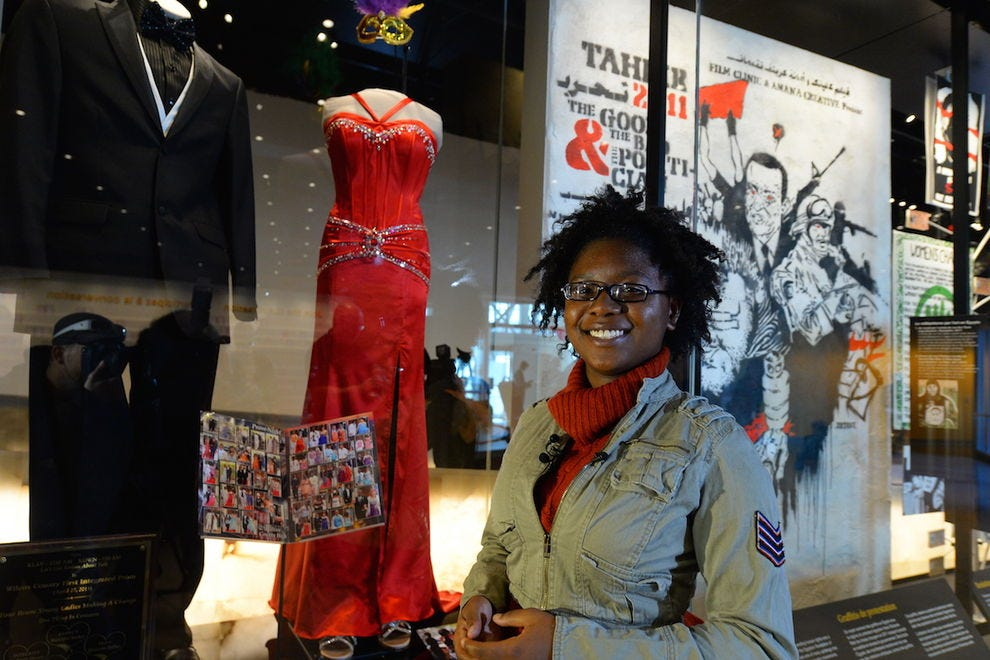 Maréshia Rucker and her change-inspiring prom dress