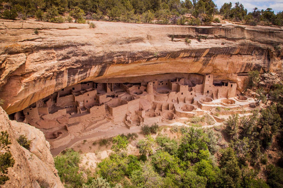 The amazing Mesa Verde National Park is a UNESCO World Heritage Site