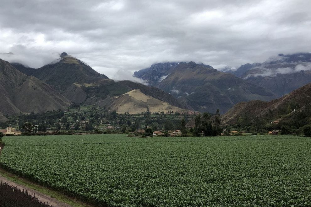 The mountain view is always changing at explora Valle Sagrado