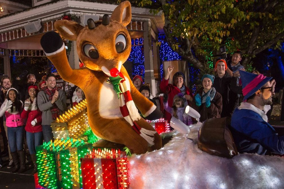 Christmas Theme Park.Best Theme Park Holiday Event Winners 2018 10best Readers