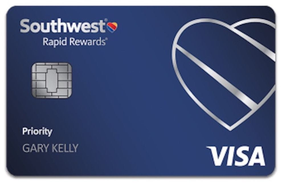 Frequent Southwest flyers earn upgraded boarding with this winning card