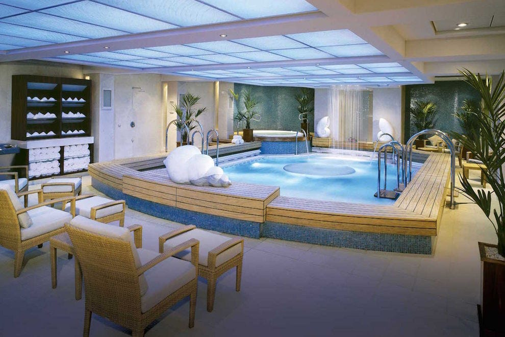 You'll want to spend a lot of time in the gorgeous spa on the <i>Queen Mary 2</i>