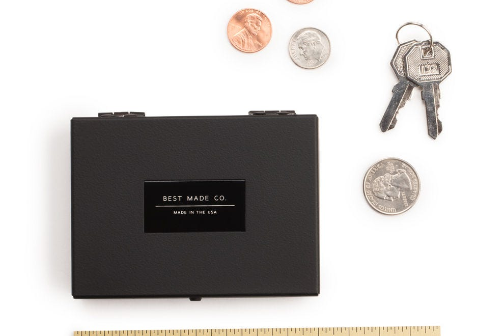 The Pocket Strongbox can keep your tiny essentials safe