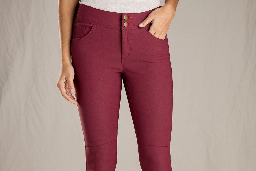 Toad & Co Flextime Skinny Pants don't get baggy