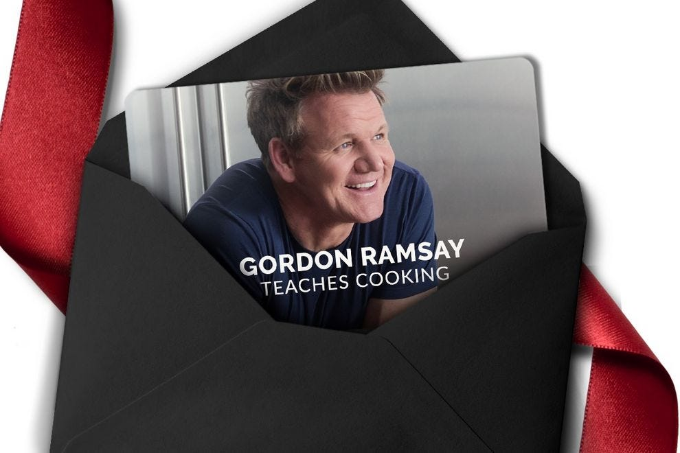 MasterClass: Gordon Ramsay Teaches Cooking will help turn an amateur into an expert