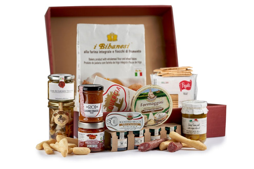 Who wouldn't love to receive an Eataly Gift Box?