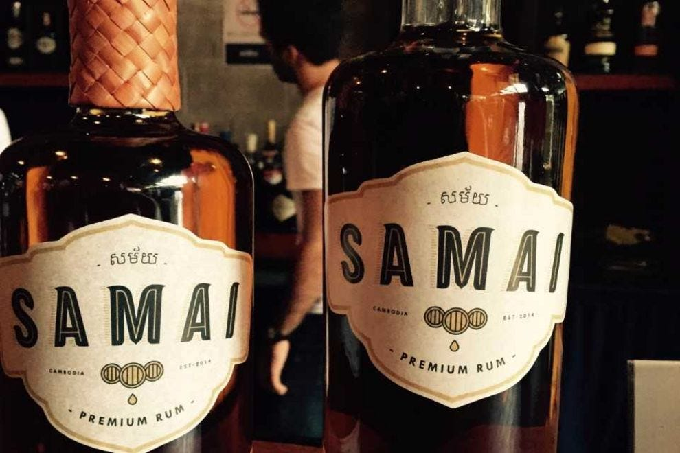 Cambodian rum might be the best drink you've never even heard of