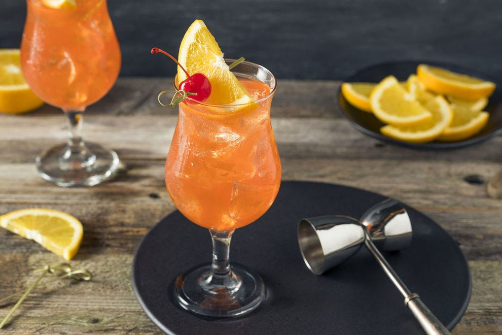 This cocktail was invented so society ladies could get drunk in public