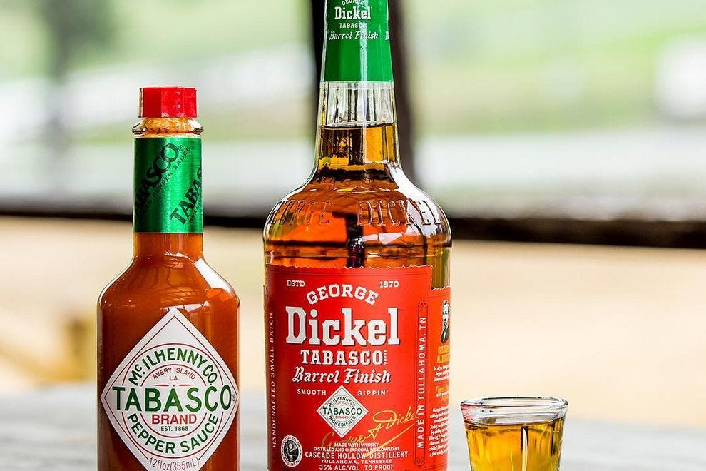 Whiskey Aged In Tabasco Barrels Is As Exciting As It Is Terrifying