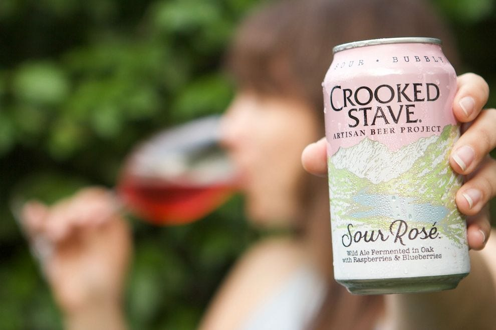 Rosé beers are the drink of this summer