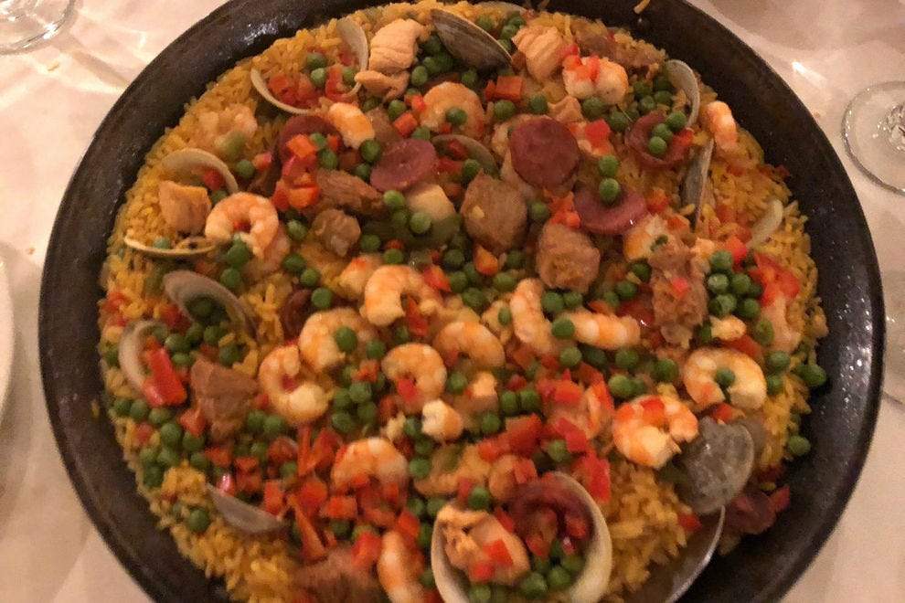 Tio Pepe's Portuguese take on paella is unlike anything being served in Philadelphia