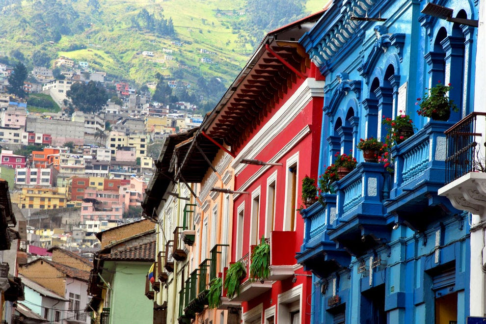 Stroll the streets of the Quito's historic city center