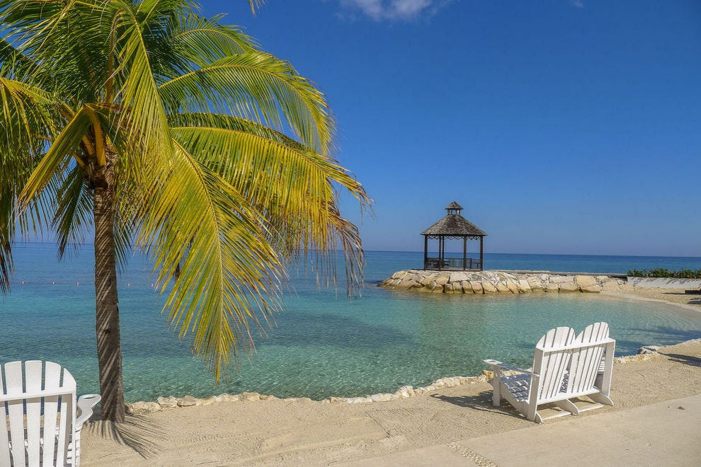 Relax on the beaches of Jamaica
