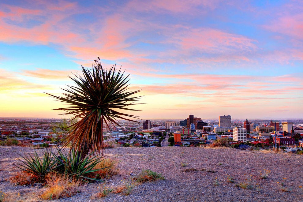 El Paso is an oasis of fun in the middle of the Chihuahuan Desert