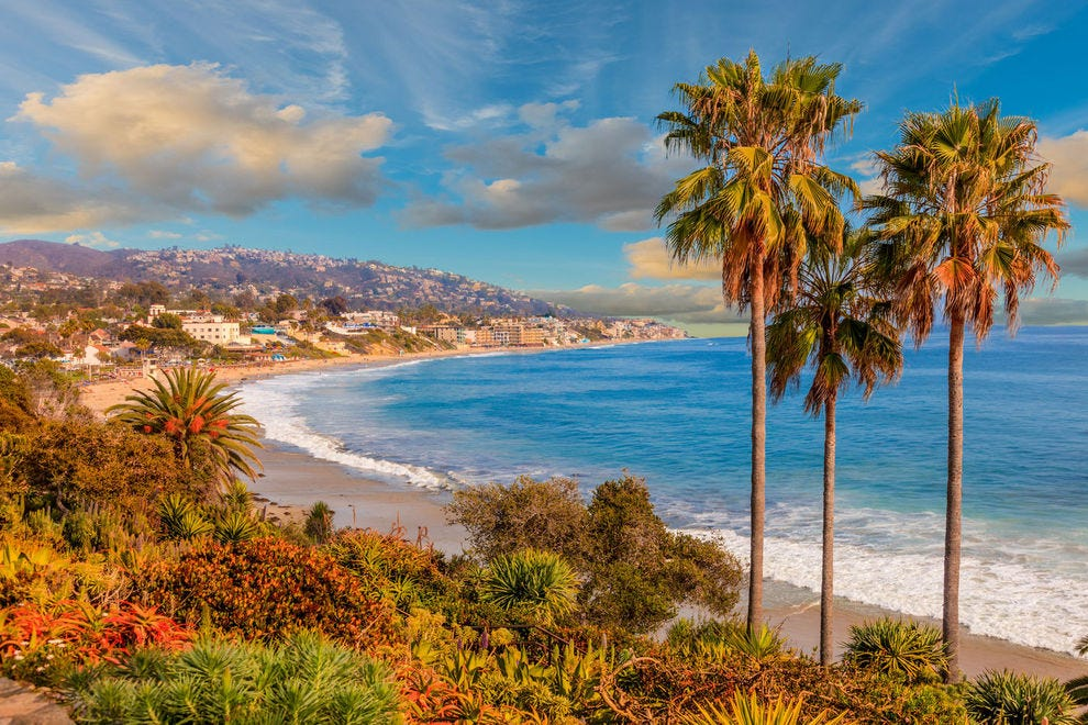This iconic coastline draws travelers from around the world to Laguna Beach