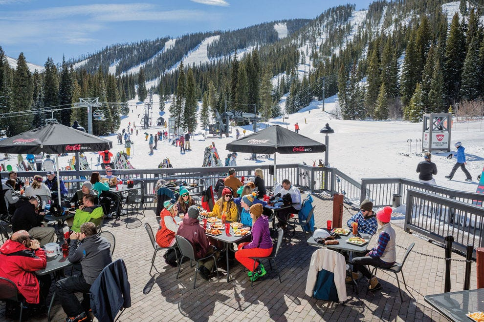 Skiers and boarders at Winter Park have 166 named trails to choose from