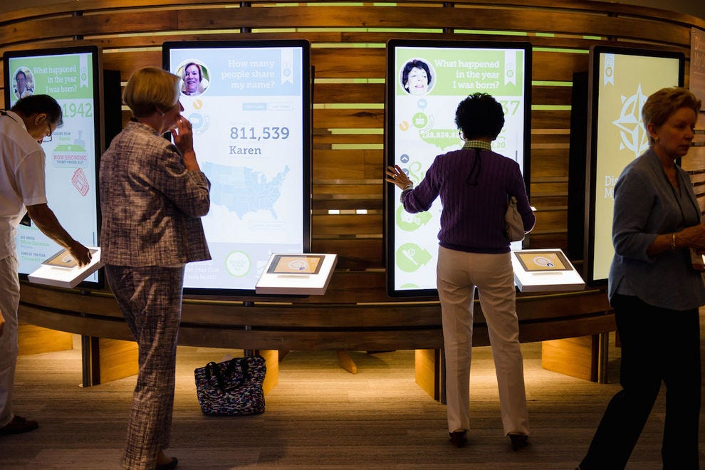 The Discovery Center at the Family History Library offers lots of interactive experiences