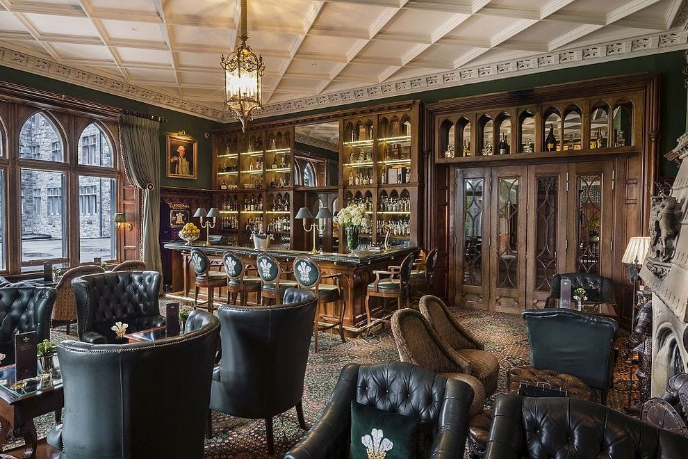 Raise a glass at the Prince of Wales Bar