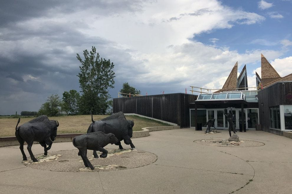 Entrance to Wanuskewin Heritage Park
