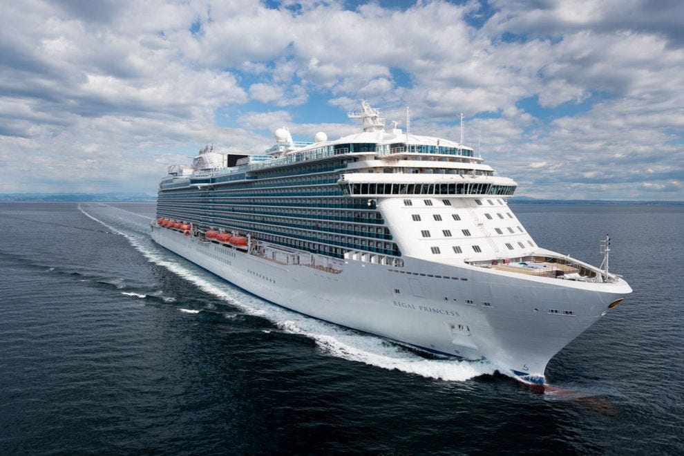 <em>Regal Princess</em> carries 3,560 passengers