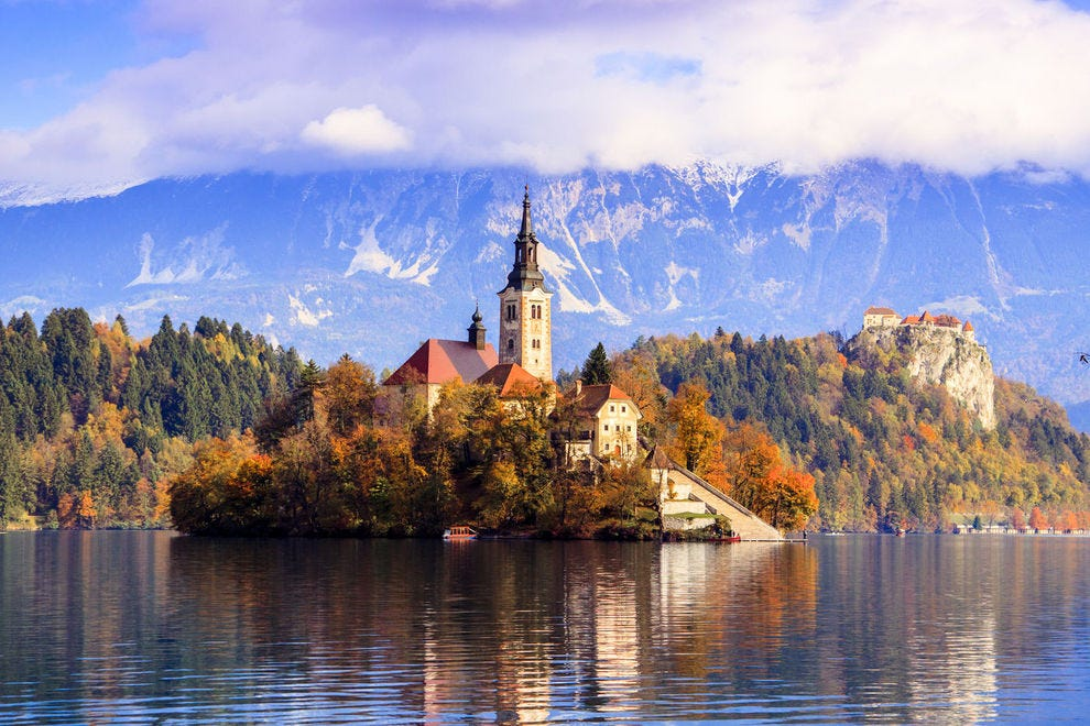 Surreal Lake Bled