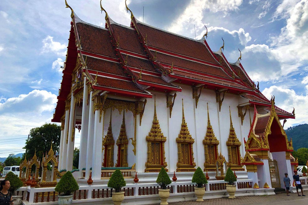 Wat Chaithararam is one of several ornate temples located at Wat Chalong